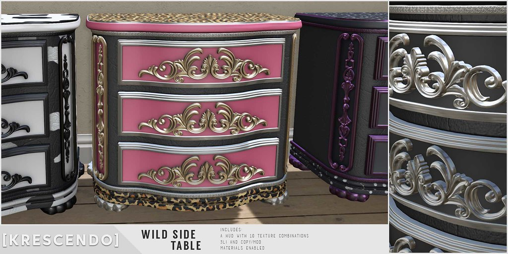 [Kres] Wild Side Table