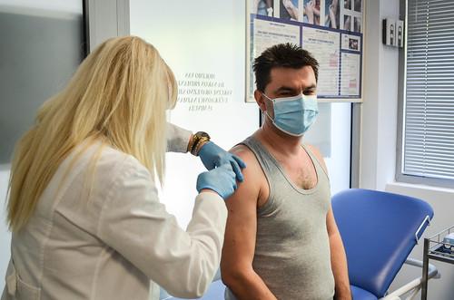 Igor Galić - izjava nakon vakcinacije