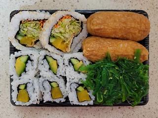 Vegetarian Box from Sushi Hub