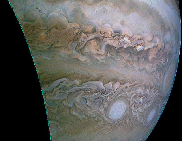 Jupiter (JUNOCAM Perijove 32 Data)