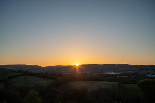 Caerphilly Sunset