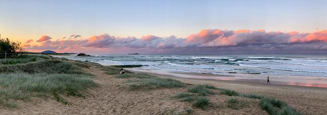 Sunset Over Maroochydore Beach
