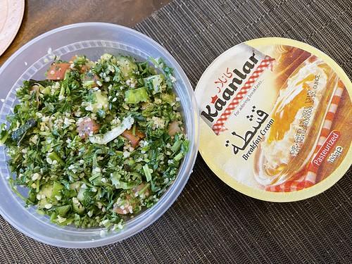 Tabouleh Salad & Breakfast Cream