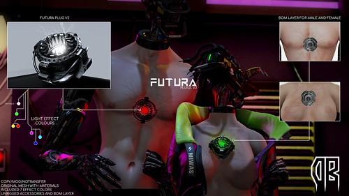 FUTURA PLUGS V2 @CyberPunk Event