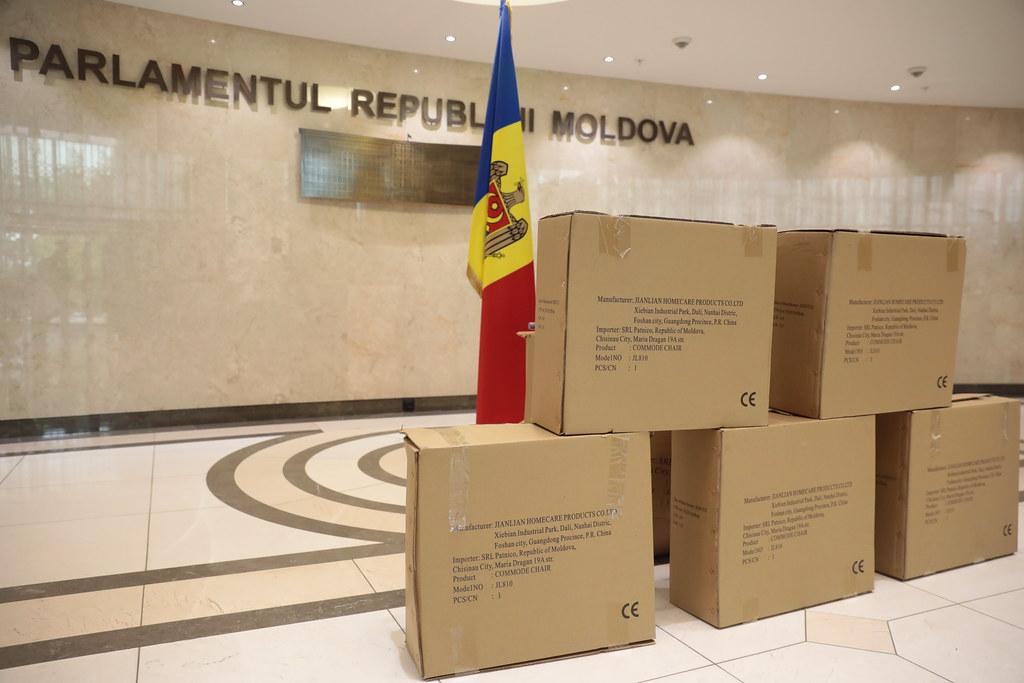 07.05.2021 Act de caritate Centrului pentru persoane vârstnice și cu dizabilități din com. Cocieri, raionul Dubăsari
