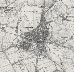 Mapa szczegółowa Polski 1:25,000