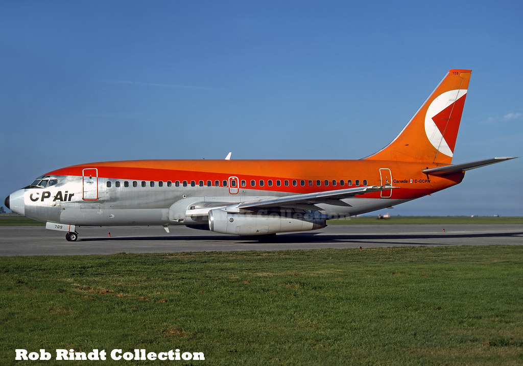 CP Air B737-217/Advanced C-GCPN