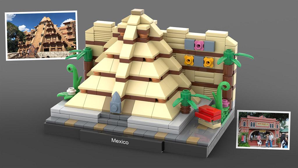LEGO Epcot Mexico
