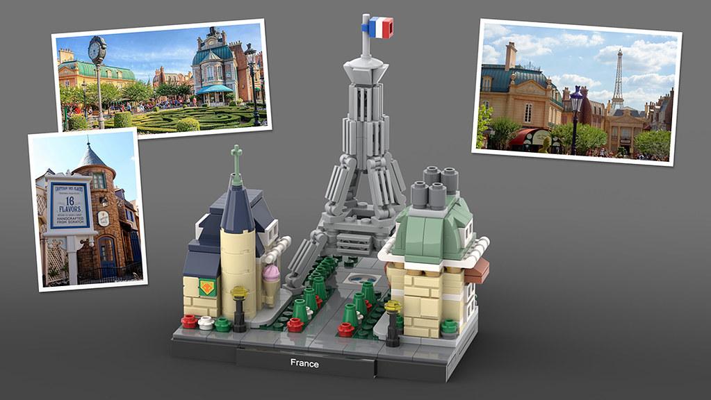 LEGO Epcot France