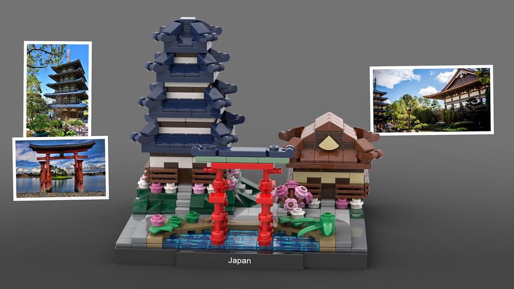 LEGO Epcot Japan