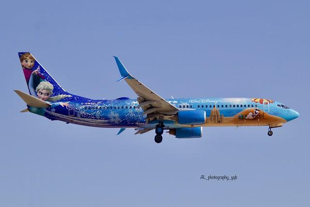 Westjet Boeing 737-8CT ( Walt Disney World Frozen ) Livery C-GWSV YYZ