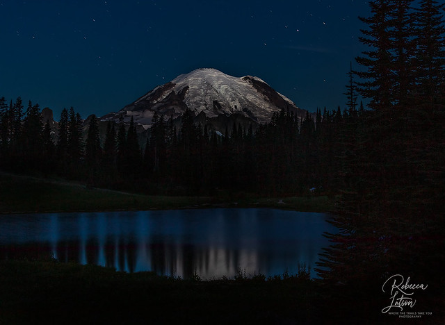 Tipsoo Lake Before Sunrise