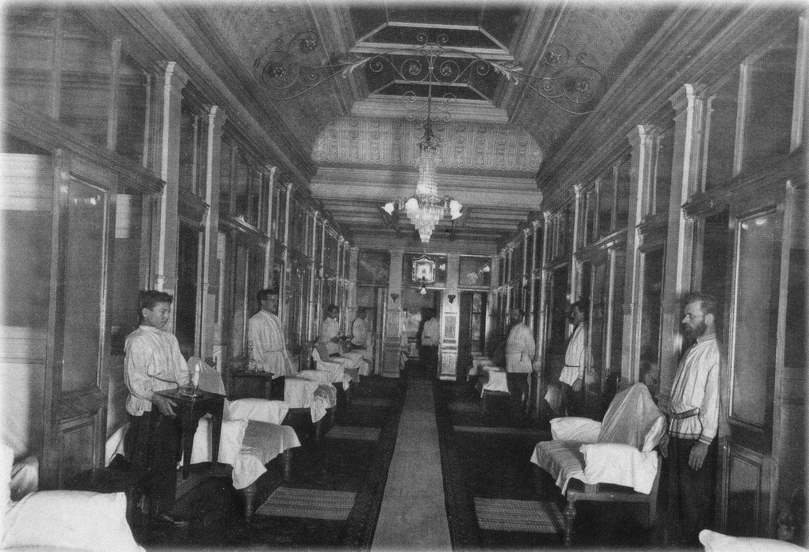 1900-е. Центральные бани Е.С. Егорова