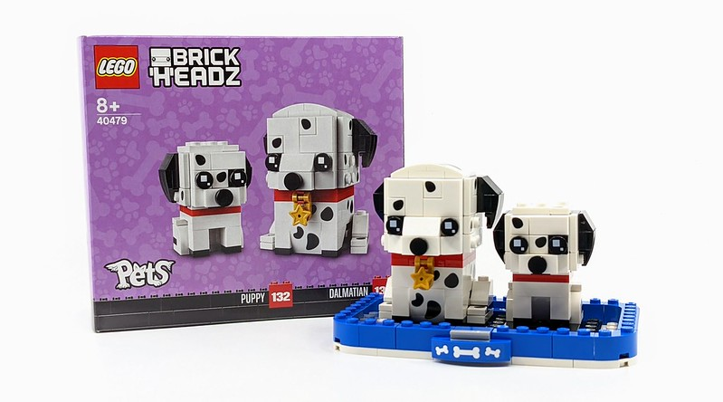 LEGO BrickHeadz Pets Dalmatians3907268