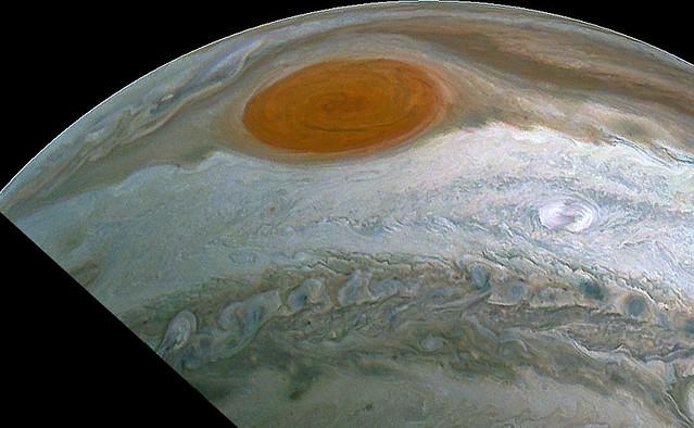 Jupiter's Great Red Spot (JUNOCAM Perijove 27 Data)