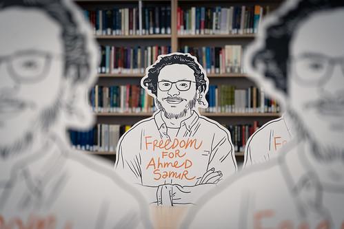Freedom for Ahmed Samir
