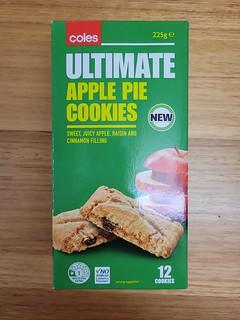 Coles Apple Pie Cookies