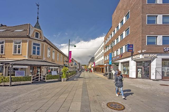 Markensgate, kristiansand, Norway