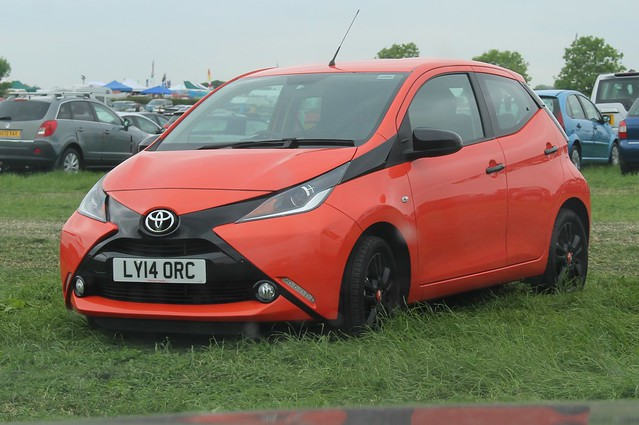 239 Toyota Aygo (2nd Gen AB40 PreFacelift) X-Cite VVTi 5 door (2014) LY 14 ORC