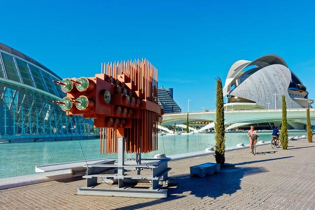 Arts Display - The Arts & Science Area - Valencia ( Circa 2014) Sony RX100M3