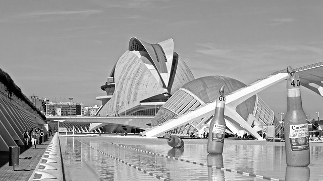 Arts & Science Area - Valencia (Monochrome) Sony RX100M3