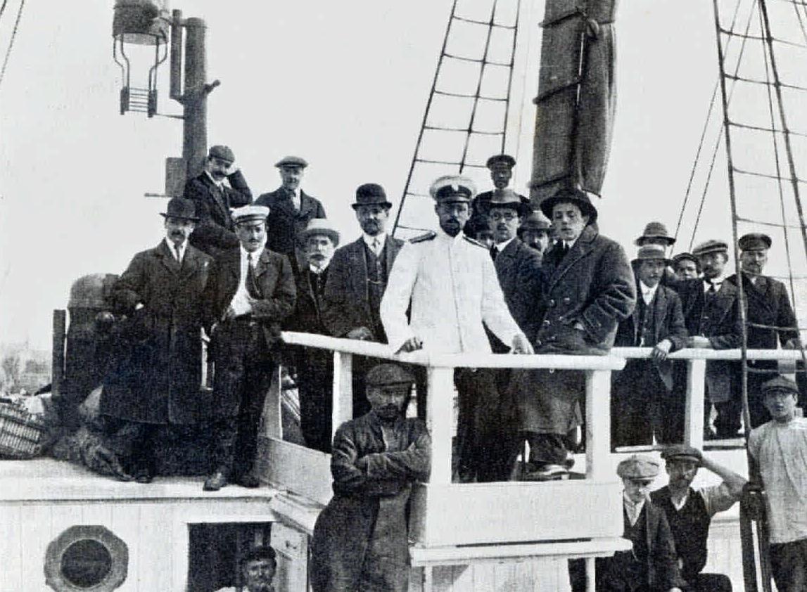 1912. Экспедиция на Крайний север. Пароход «Нимрод»