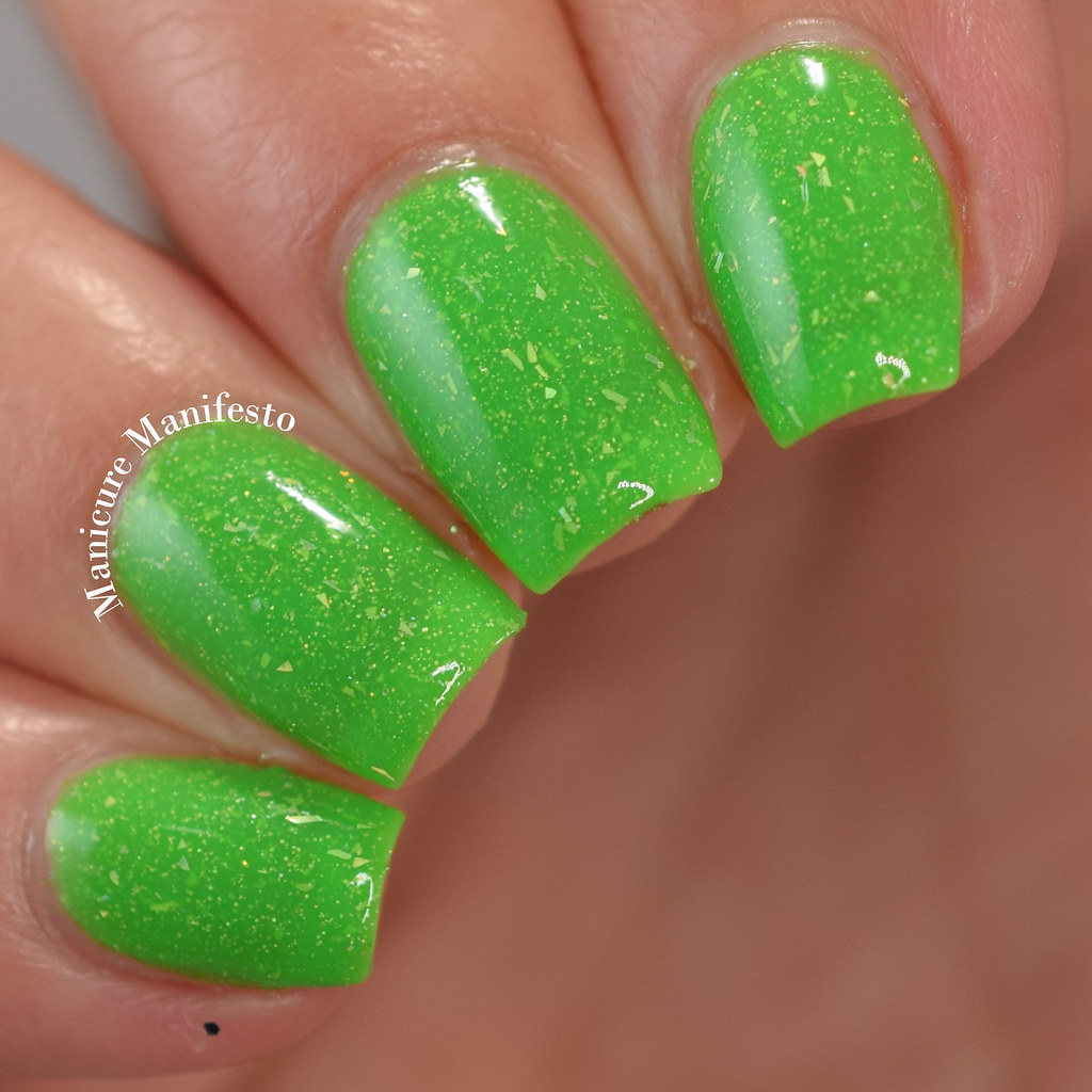 Lucky 13 Lacquer Pretty Like Poison Review