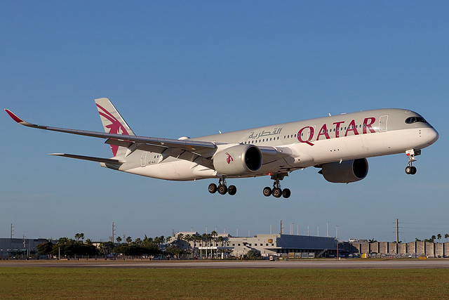 A7-ALX | Airbus A350-941 | Qatar Airways