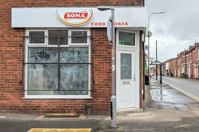 Sona Food Store on Plungington Road, Preston