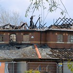 More fire damage at the doomed Baffito's pub on Preston Docks