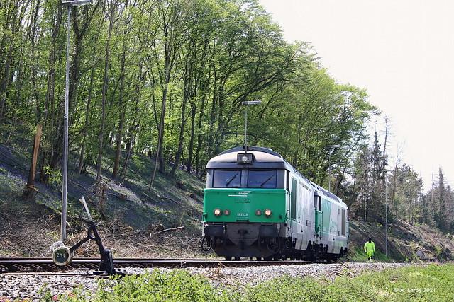 SNCF 67579 + 67494 Quenast 07-05-2021