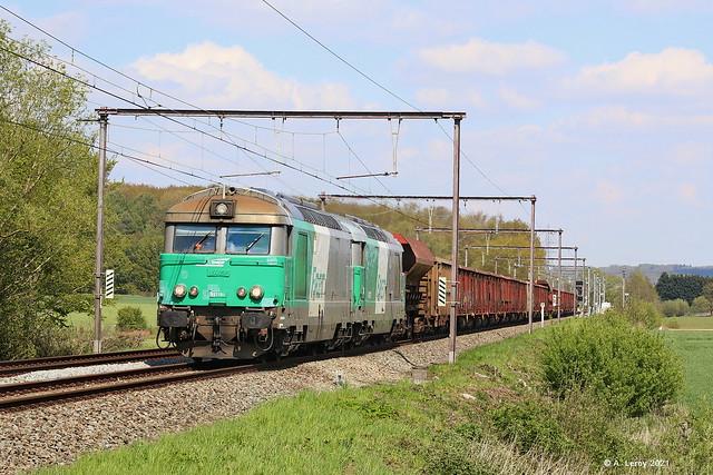 SNCF 67494 + 67579 Soignies 07-05-2021