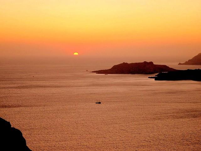 Sunset, Santorini / Explored