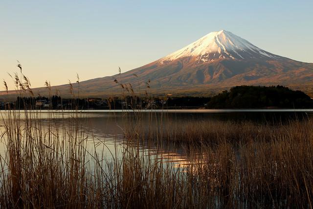 Mt.Fuji and Lake Kawaguchi