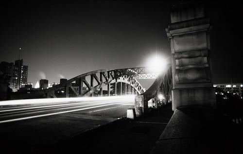 BU Bridge with Traffic (2)