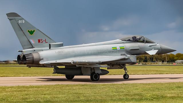 ZJ919/919 /WS-L TYPHOON 11sqn RAF