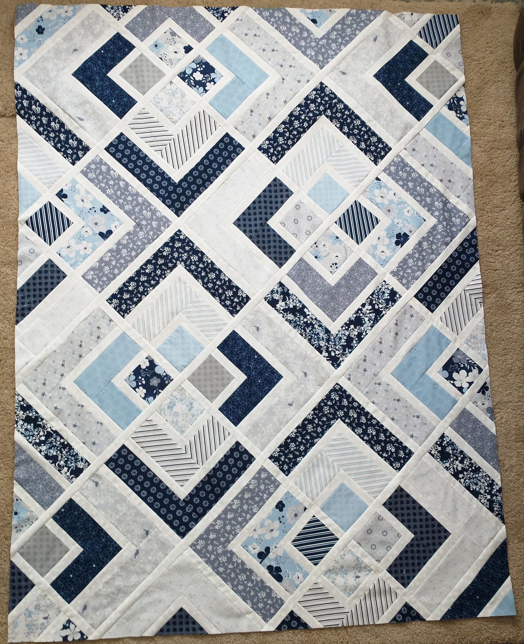 Sally's Penny Quilt