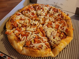 Pizzas from Pizza Hut