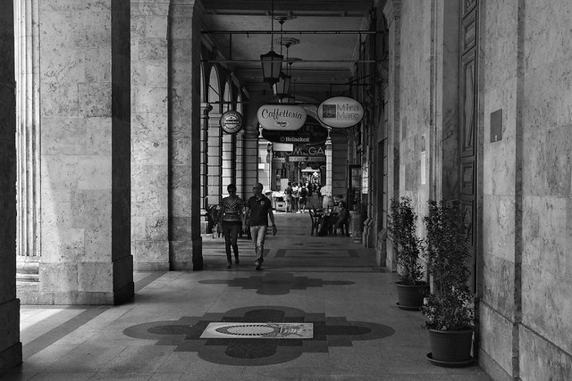 Arkaden / Arcades, Cagliari (Sardegna)