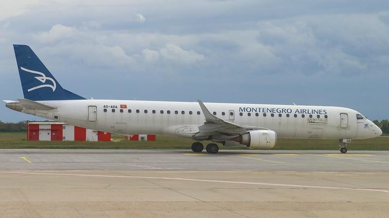 4O-AOA ToMontenegro Embraer ERJ-195LR © P. Marianic
