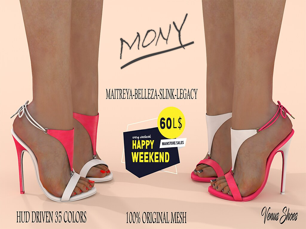 60L Happy Weekend V.S MONY SHOES FATPACK