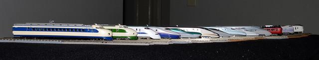 N Scale Model ~ Japan Rail Speed Evolution (16)