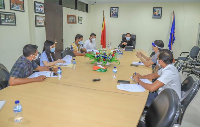 ANC-Operadores (Timor Telecom, Telemor & Telkomcel) Encontro sobre Orientaςão Ministerial do MTC para a melhoria das condiςões de acesso à internet para toda a População de Timor Leste.