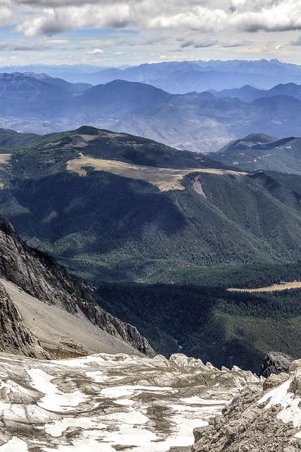 Yu Long Glacier