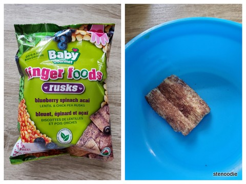 baby led weaning finger food rusks
