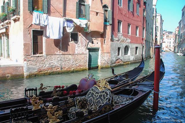 Gondoli Venetsiassa