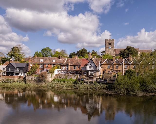 Aylesford village