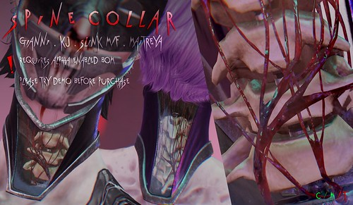 Spine collar @ Cyberpunk fair