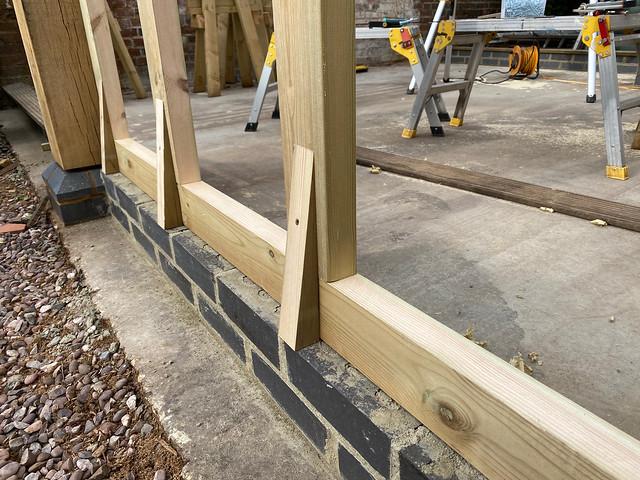 Wall frame sprockets