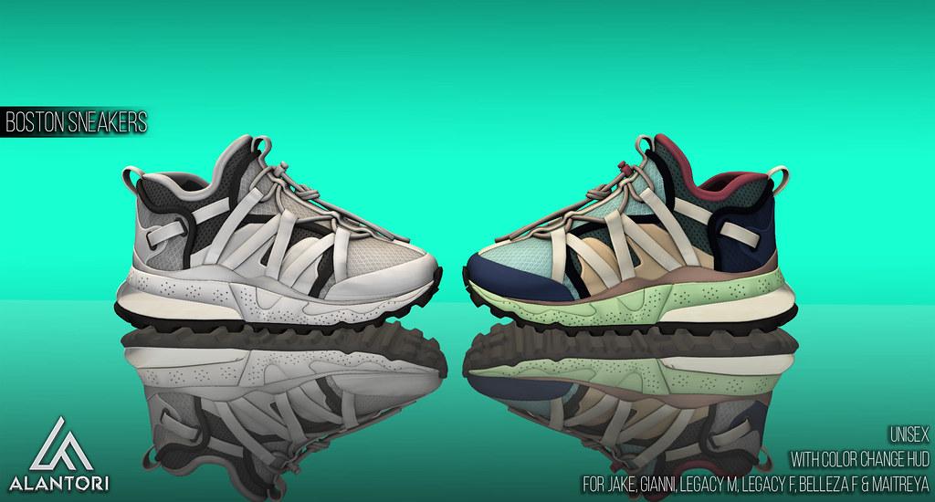 ALANTORI | Boston Sneakers [UNISEX]